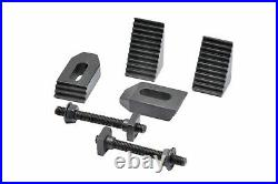 Hv4 Rotary Table (4 Slot)+ Tailstock + Indexing Plates Set, M8 Clamping Kit Set