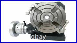Hv4 Rotary Table(4 Slot) With 80mm Self Centering Chuck & Backplate