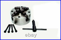 Hv6/150mm Rotary Table(4 Slot) With 150mm Independent Chuck & Diving Plate Set