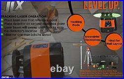 Johnson Level & Tool 40-6590 Horizontal/Vertical Tracking Rotary Laser System
