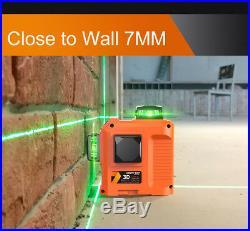 LOMVUM Laser Level 360 Rotary Self Auto Leveling Horizontal Vertical Cross Line