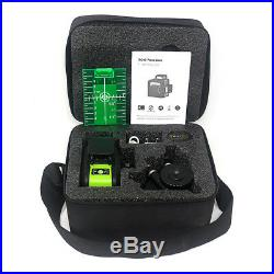 Laser Level 3D 12 Lines Green 360 degree Rotary Vertical Horizontal Ourdoor