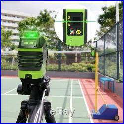 Laser Level Dots Self-Leveling 360 3D Rotary Cross Line Vertical Horizontal 5