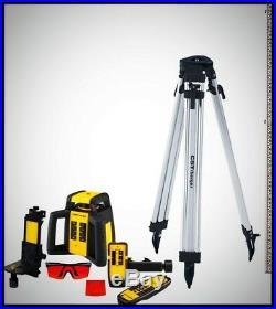 Laser Level Kit Self Leveling Rotary Horizontal Vertical Measuring Set 10 Piece