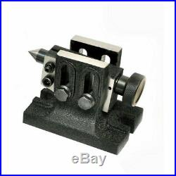 Lathe Tailstock For Rotary Table With Indexing Plates For HV4 And HV6 Rotary Tab