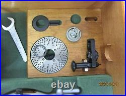 MOORE 11 inch 1230-S Precision Vertical Horizontal Rotary Table