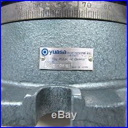 NEW! YUASA 550-048 8in Horizontal Vertical ROTARY TABLE