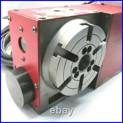 NICE! HAAS 6.3 CNC 4th-AXIS T-SLOTTED INDEXING ROTARY TABLE #HRT-160