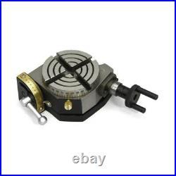 New 3/75mm Tilting Horizontal Vertical Rotary Table 361 Angular Marking