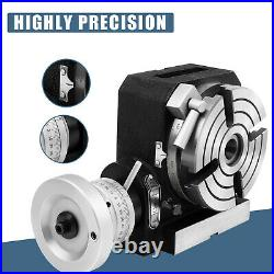 New Quality Rotary Table 4 inch-100mm Horizontal Vertical Model-Milling Machine