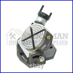 New Rotary Table 3 75mm Horizontal Vertical Low profile Gear Ratio 361