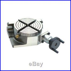 New Rotary Table 4/100 mm Horizontal & Vertical Low Profile 361 Pack Of 2 PCs
