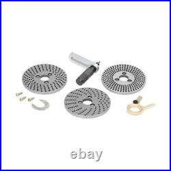 New Toolman Rotary Table 4.5/16/110mm Kit Dividing Plate Tail Stock & Clamp Set