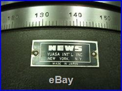 News / Yuasa 12 Horizontal Vertical Rotary Table