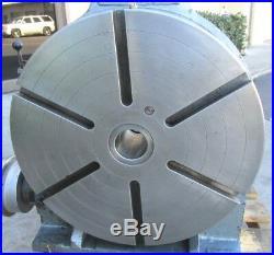 Nice! Yuasa 20 Horizontal / Vertical Rotary Table #550-056