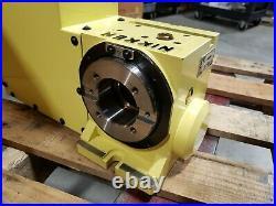 Nikken CNC Rotary Table CNC100LFA Fanuc Motor Refurbished