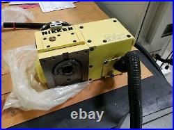 Nikken Rotary Table CNC100 NCT150 External Control Alpha 21 Indexing Table