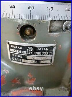 Nikken Rotary Table SRI-10 Vertical Horizontal 8 Chuck Index Milling Lathe