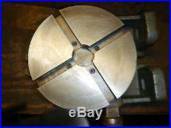 Palmgren 8 Horizontal Or Vertical Rotary Table Machinist Jig Fixture Tooling