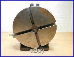 Palmgren INCOMPLETE Horizontal/Vertical Rotary Table 10 Table Diam 9634105