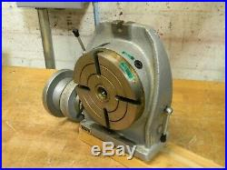 Phase II Horizontal / Vertical Rotary Table 6 Diam. 2MT Center Taper 221-306