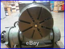 Pratt & Whitney 12 Tilting Horizontal/Vertical 360 deg Rotary Table