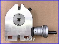 Precision 6 Horizontal & Vertical Rotary Table Liang Yu 4-Slot Face Plate