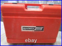 Quadriga QL-100 Horizontal Vertical Rotary Laser with extras Germain made