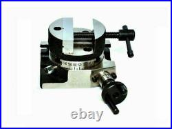 ROTARY TABLE 3/75 MM WITH 3/75 MM ROTARY VICE horizontally & vertically