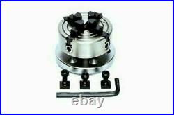 ROTARY TABLE 4 / 100mm WITH 70mm INDEPENDENT CHUCK