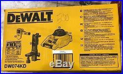 Rotary Laser Level Kit Detector DW074KD DEWALT Self-Leveling Horizontal Vertical