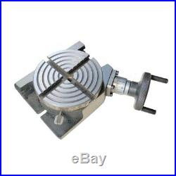 Rotary Table 100 mm 4 in With 50 mm Mini Lathe Scroll Chuck And Rotary Vice 4 in