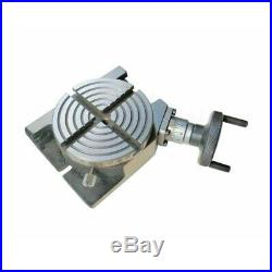 Rotary Table 100 mm With 65 mm Mini Lathe Scroll Chuck And Rotary Vice 4 Inch