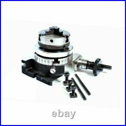 Rotary Table 3 Inch 80 mm with 50 mm Self Centering Lathe Chuck