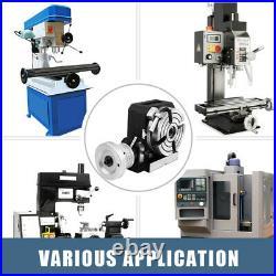Rotary Table 4100mm HV4 4-Slot Precision Durable Horizontal Milling Machine