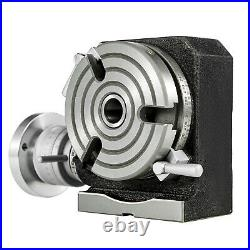 Rotary Table 4 3-Slot Horizontal Vertical Dividing Plates for Milling Machine