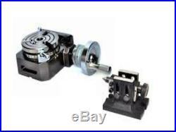 Rotary Table 4 Horizontal Vertical 100mm Model Miling Machine 4 Slots$#
