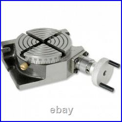 Rotary Table 4 Inch/100 mm Horizontal Vertical For Milling Premium Quality