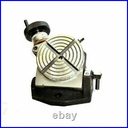 Rotary Table 4 Inches Tilting 100 mm Suitable For Horizontal And Vertical Tables