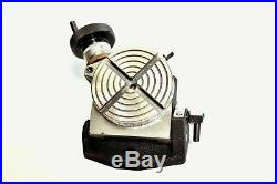 Rotary Table 4 Tilting 100 mm Suitable For Horizontal And Vertical Rotary Table