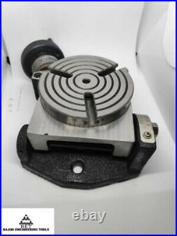 Rotary Table 4 or 100mm For Milling Machine 3 slot Tilting Premium Quality