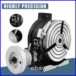 Rotary Table 6 in HV6 3-Slot Precision Durable Horizontal with Honeycomb Pane