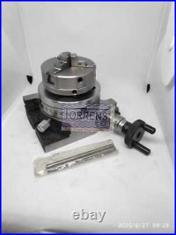 Rotary Table HV 3-80mm + 65mm Self Centering Reversible Chuck+ Backplate