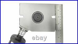 Rotary Table Horizontal & Vertical 4 / 100mm with 65mm Lathe Chuck & TAILSTOCK
