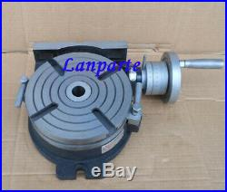 Rotary Table Horizontal & Vertical 6, HV-6 150mm Mechanical Rotary Table