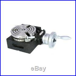 Rotary Table Hv5/ 125mm Horizontally And Vertically