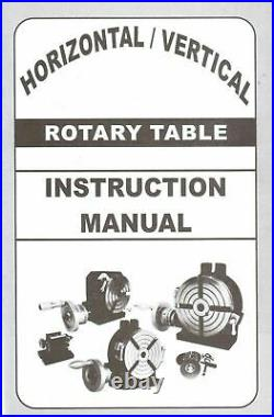 Rotary table HV4 3 Slot Model and Indexing plates Set for Dividing