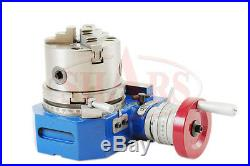 SHARS 4 Horizontal and Vertical ROTARY TABLE With 4 3 JAW CHUCK NEW $112.94 OFF
