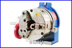 SHARS 8 Horizontal and Vertical ROTARY TABLE With 8 3 JAW SELF CENTERING Chuck