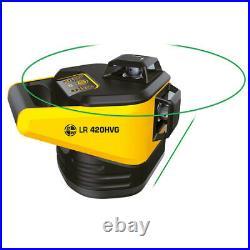 SITEPRO 27-LR420HVG LR 420HVG Horizontal & Vertical Green Beam Rotary Laser